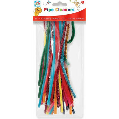 50 Assorted Pipe Cleaners image number 1