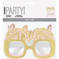 Hen Do Diamond Party Glasses - Pack of 4