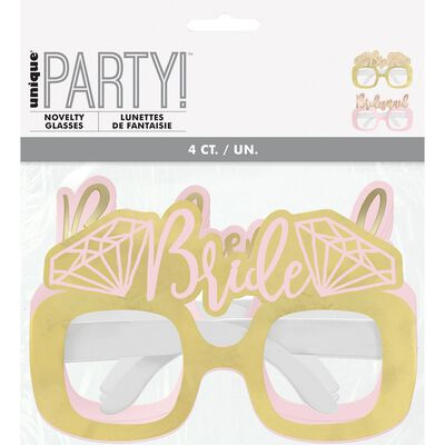 Hen Do Diamond Party Glasses - Pack of 4 image number 2