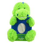 Green Snuggly Dinosaur Hot Water Bottle image number 1