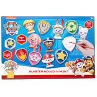 Paw Patrol Plaster Mould & Paint Set