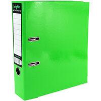 Bright Green A4 Lever Arch File