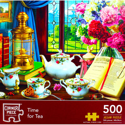 Time for Tea 500 Piece Jigsaw Puzzle image number 2