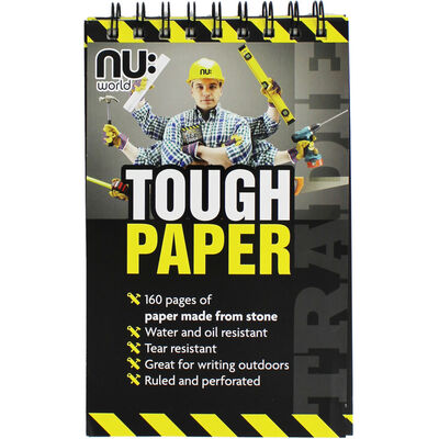 A5 NU Tough Paper Lined Notebook image number 1
