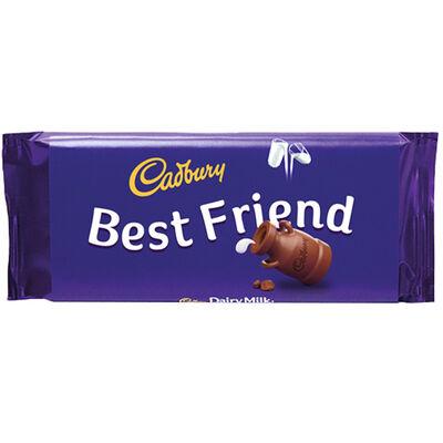 Cadbury Dairy Milk Chocolate Bar 110g - Best Friend image number 1
