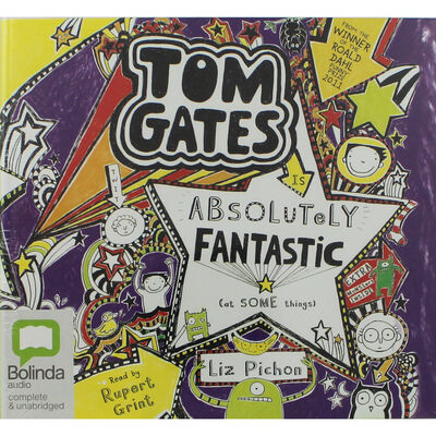 Tom Gates Is Absolutely Fantastic: MP3 CD image number 1