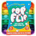 Pop 'N' Flip Bubble Popping Fidget Game: Rainbow Square image number 1