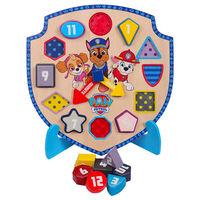 Paw Patrol Wooden Puzzle Clock
