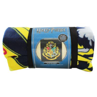 Harry Potter Hogwarts Crest Picnic Blanket image number 2