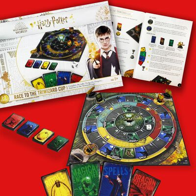 Harry Potter Race To The Triwizard Cup Board Game image number 5