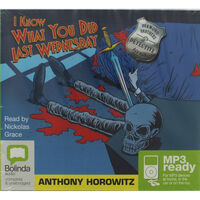I Know What You Did Last Wednesday: MP3 CD