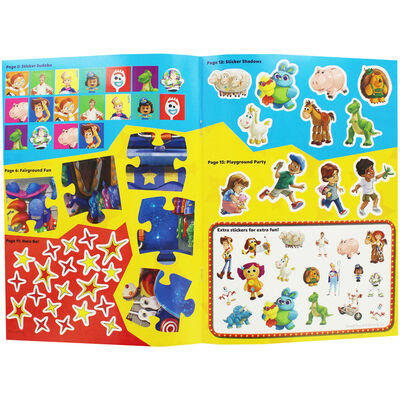 Toy Story 4: Sticker Play Rootin' Tootin' Activities image number 2