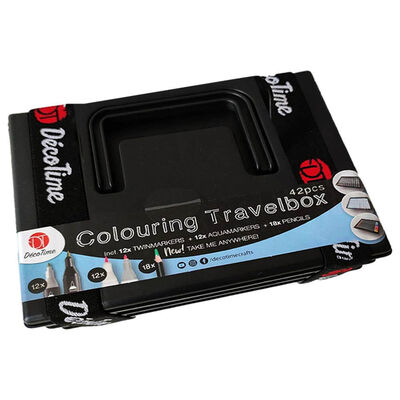 Decotime Colouring Travel Box image number 1