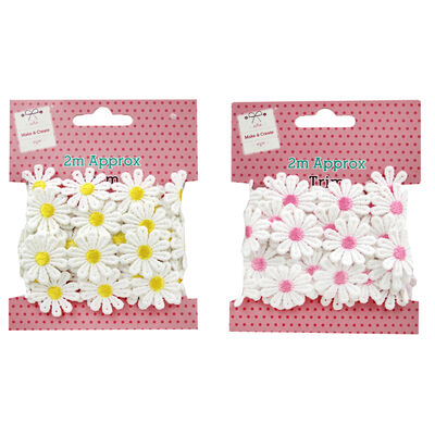 2m Daisy Chain Trim - Assorted image number 3