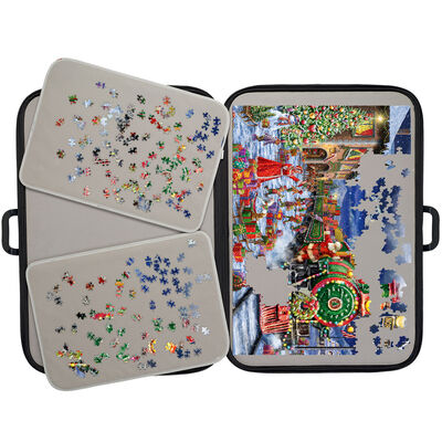 Portapuzzle Deluxe Jigsaw Carrier - For 500-1000 Piece Jigsaw Puzzles image number 4