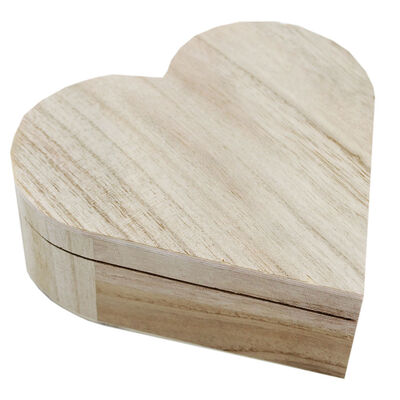 Wooden Heart Box image number 1