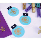 Twilight Wishes Wooden Bauble Shapes - Pack of 6 image number 3