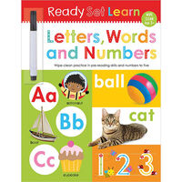 Ready Set Learn: Letters, Words and Numbers