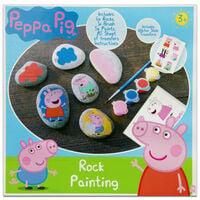 Peppa Pig Rock Painting