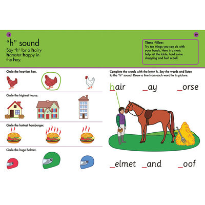 10 Minutes A Day Phonics: Ages 3-5 image number 2