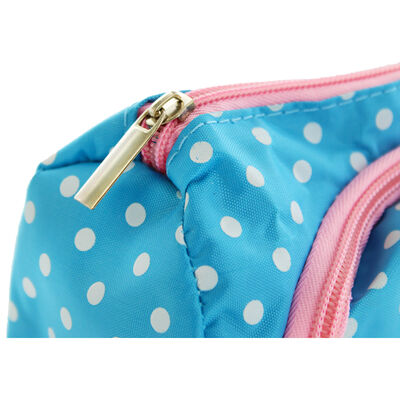 Blue Polka Dot Stay Organised Pencil Case Organiser image number 3