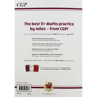 CGP 11+ Maths: Practice Book with Assessment Tests image number 3
