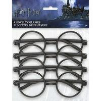 Harry Potter Novelty Glasses - 4 Pack