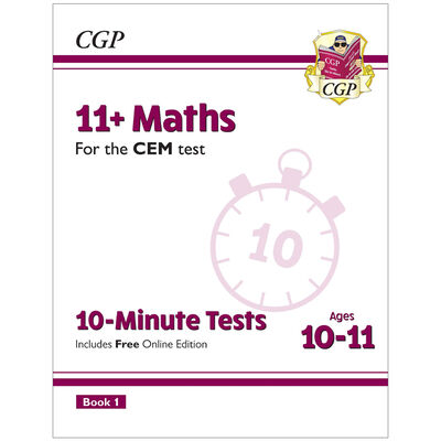 11+ CEM 10-Minute Tests Maths: Ages 10-11 image number 1