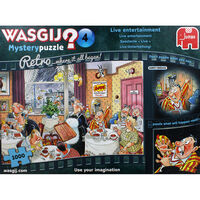 Wasgij Retro Mystery 4 Live Entertainment 1000 Piece Jigsaw Puzzle