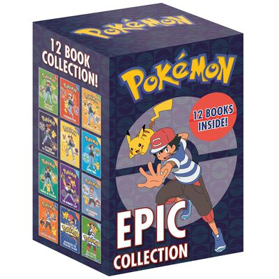 Pokemon Epic Collection: 12 Book Box Set image number 1
