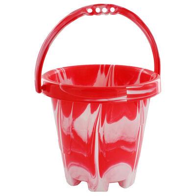 Medium Marble Round Bucket - Assorted image number 1