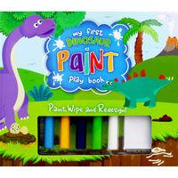 My First Dinosaur Paint Play Book