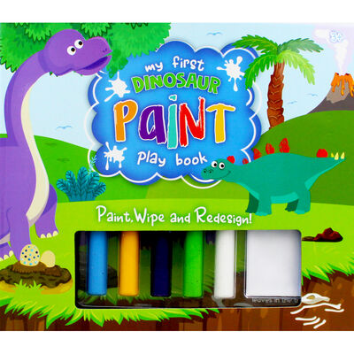 My First Dinosaur Paint Play Book image number 1