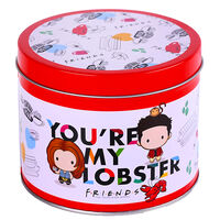 Friends You're My Lobster Mug in Tin Set