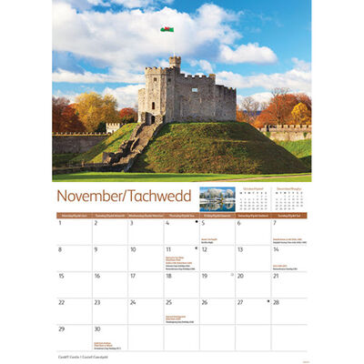Cardiff A4 Calendar 2021 image number 2