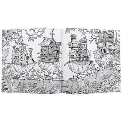 Worlds Within Worlds Colouring Book image number 2