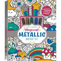 Kaleidoscope Colouring Kit: Magical Metallic