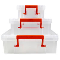Shallow Storage Box - Set of 3