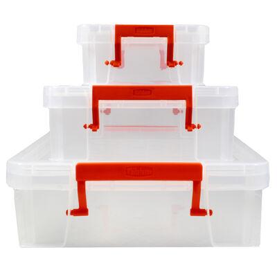 Shallow Storage Box - Set of 3 image number 2