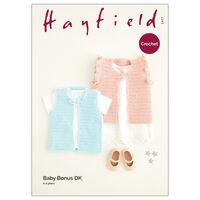 Hayfield Baby Bonus DK: Gilet Crochet Pattern 5417
