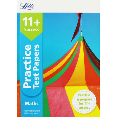 Letts Success Maths Practice Test Papers image number 1