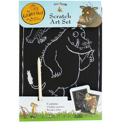 The Gruffalo Scratch Art Set image number 1