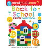 Back to School Workbook: Age 5+