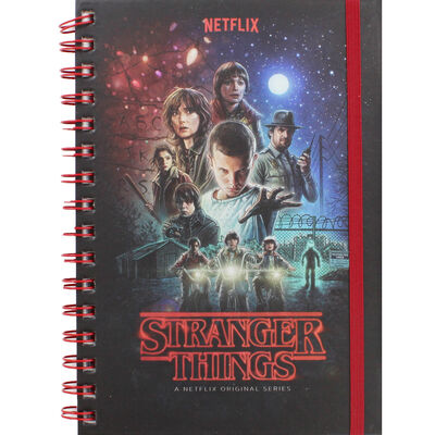 Stranger Things A5 Metallic Notebook image number 1