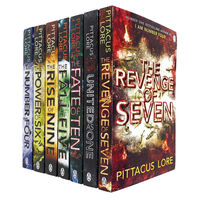 The Pittacus Lore: 7 Book Collection