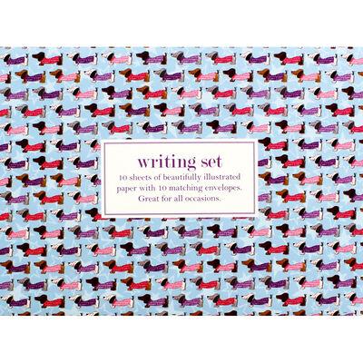 Sausage Dog Writing Set image number 1
