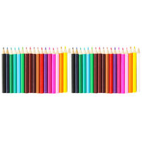 Mini Colour Pencils - Pack Of 36