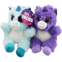 Cute Unicorn Plush - Assorted