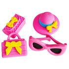 Mini Novelty Erasers Pack - Pink image number 2