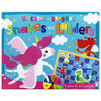 Unicorns and Dragons: Snakes and Ladders